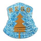 Oregon Douglas Pine Tree al aire libre a prueba de viento sombreros deportes escudo bufanda hombres mujer calentador de cuello