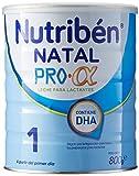 Nutribén Natal ProAlfa 1 Leche en polvo de iniciación para bebés- de 0 a 6 meses- 1 unidad 800g