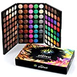 Pure Vie 120 Colores Sombra De Ojos Paleta de Maquillaje Cosmética - Perfecto para Sso Profesional y Diario