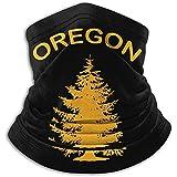 Oregon Douglas Pine Tree Neck Warmer Gaiter Ski Mascarilla Cubierta para el Invierno