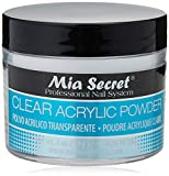 Mia Secret acrílico Nail Art polvo, 60ml, transparente