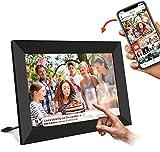 Marco Digital - UCMDA 8 Pulgunda WiFi Frame Marco Digital de Fotos Cloud Pantalla Táctil IPS HD 1280x800 16GB Rotación Automática Smart Marco, Comparta Imagen a Través de la Aplicación