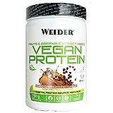 Weider-Vegan Protein- Proteína 100% vegetal de guisantes (PISANE) y arroz. Sin gluten. Sin lactosa. Sin aceite de palma (750 g). Sabor Capuccino