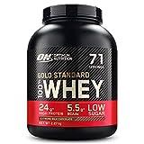 Optimum Nutrition Gold Standard 100% Whey Proteína en Polvo, Glutamina y Aminoácidos Naturales, BCAA, Extremo Chocolate, Leche, 71 Porciones, 2,27kg, Embalaje Puede Variar