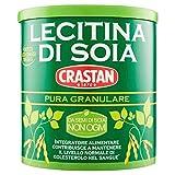 Crastan lecitina di soia pura granulare confezione da 250 grammi (1000010103)