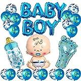 baby shower niños,Gender Reveal Decoration,Boy or Girl Party,Accessorios Baby Shower,niño Cumpleaños Baby Shower Decoración,globos de fiesta para baby shower,pancartas para baby shower