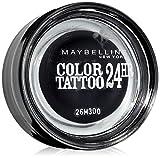 Maybelline New York Tattoo 24H Sombra de Ojos, Tono: nº60 Timeless Black